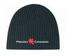 Proudly Canadian Black Rib Toque