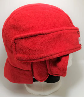 Fleece Hockey Helmet - Red