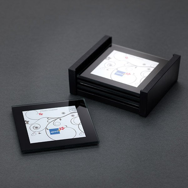 Photo Coaster Holder With 4 Coasters