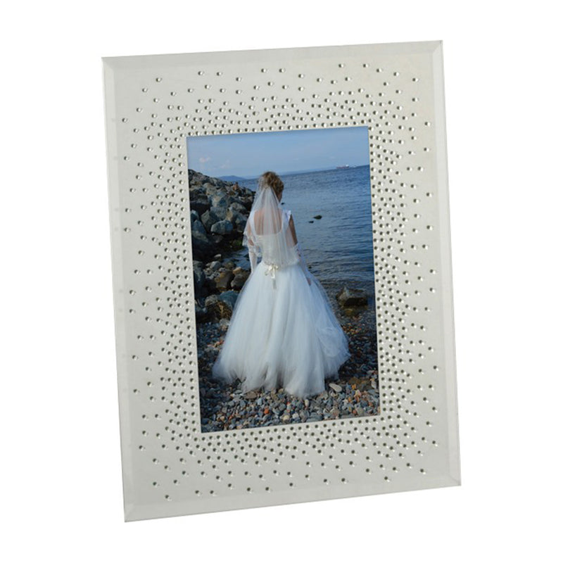 Crystals Celebration Photo Frame Glass 7X5