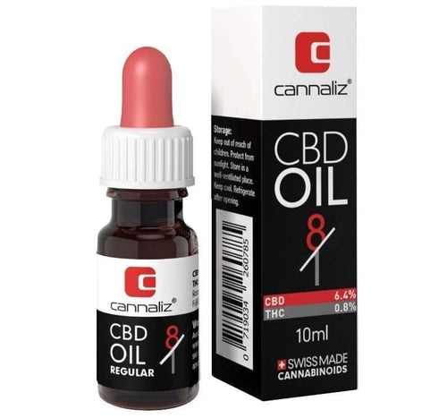Technic CBD Oil - 8:1 Ratio (CBD/THC)-CBD Oil-Cannaliz-Swiss CBD Shop-uWeed