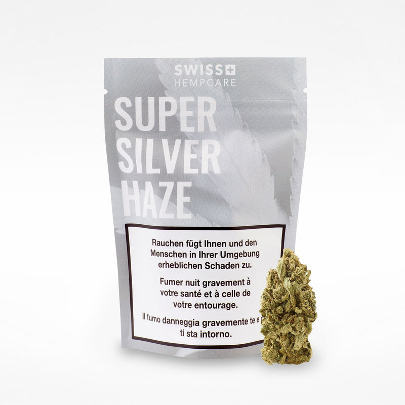Super Silver Haze-CBD Cannabis-Swiss Hempcare-Swiss CBD Shop-uWeed