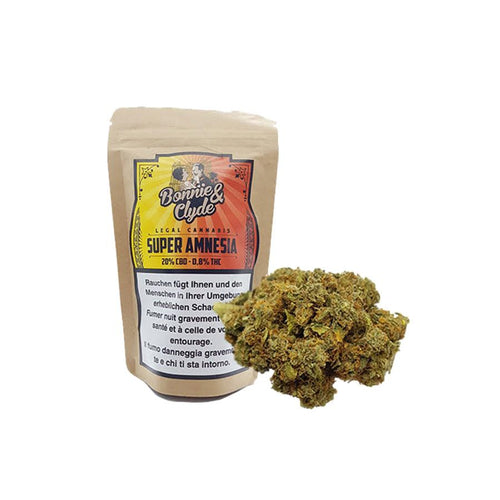 Super Amnesia Vol. 2-CBD Cannabis-Bonnie & Clyde-Swiss CBD Shop-uWeed
