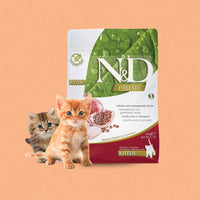 Farmina N&D Grain Free Food for Kittens - Chicken & Pomegranate - doggietheapp.com
