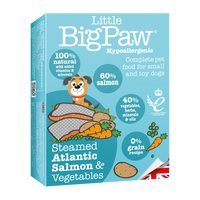 Little Big Paw Steamed Atlantic Salmon & Vegetable Terrine - doggietheapp.com