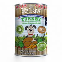 Little Big Paw Turkey with Broccoli, Carrots and Cranberries  - doggietheapp.com