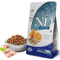Farmina N&D Grain Free Ocean Dry Cat Food - Herring & Orange - doggietheapp.com