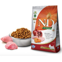 Farmina N&D Grain Free Mini Breed Adult Dry Dog Food - Chicken & Pomegranate - doggietheapp.com