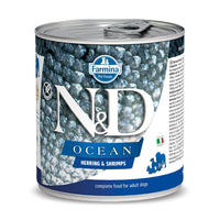 Farmina N&D Ocean - Wet Dog Food - Herring & Shrimps - 285 g
