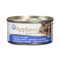 Applaws 70% Tuna Fillet with Crab Natural Cat Food - 70 g Applaws