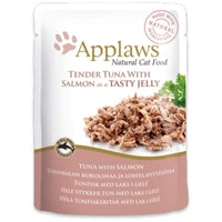 Applaws Natural Cat 55% Tuna with 7% Salmon in Jelly Wet Cat Food - 70 g Applaws