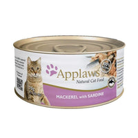 Applaws Natural Mackerel with Sardine Wet Cat Food  - 70 g Applaws