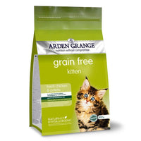 Arden Grange Grain Free Food for Kittens - Fresh Chicken & Potato Arden Grange