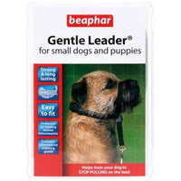 Beaphar Gentle Leader Training Collar for Puppies and Small Dogs - Black - S/M Beaphar