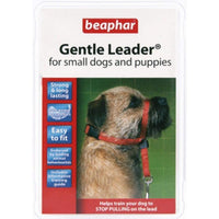 Beaphar Gentle Leader Training Collar for Puppies and Small Dogs - Red - S/M Beaphar