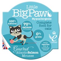 Little Big Paw Gourmet Atlantic Salmon Mousse - doggietheapp.com