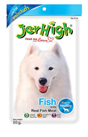 JerHigh Fish Stick Dog Treats - 50 gms JerHigh