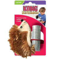 KONG Hedgehog Plush Cat Toy - Brown KONG