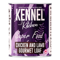Kennel Kitchen Chicken and Lamb Gourmet Loaf Adult Wet Dog Food - 12 x 185 gms Kennel Kitchen