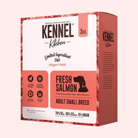 Kennel Kitchen Fresh Salmon Adult Small Breed Dry Dog Food - 3 kg Kennel Kitchen