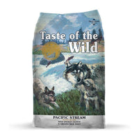 Taste of the Wild Pacific Stream Grain Free Dry Puppy Food - Smoked Salmon - doggietheapp.com