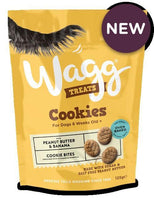 Wagg Cookies with Peanut Butter and Banana Dog Treat Wagg Foods