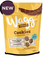 Wagg Cookies with Peanut Butter and Chicken Dog Treat Wagg Foods