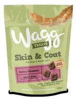 Wagg Skin & Coat Dog Treats - Duck & Cranberry Wagg Foods