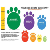 Protex Pawz - Medium All weather Dog Boots / Shoes - doggietheapp.com
