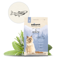 Chicopee Adult Cat Food - Beauty with Salmon - doggietheapp.com
