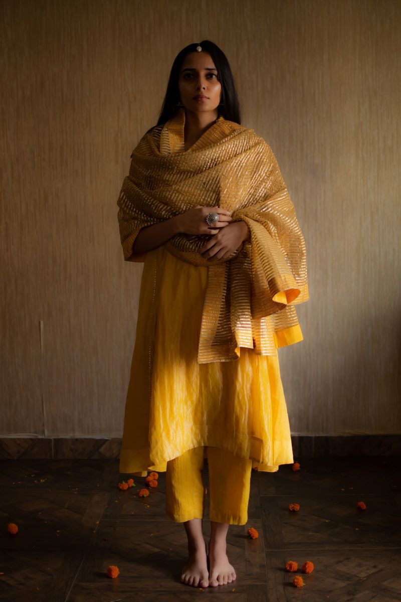 FB Kurta In Yellow