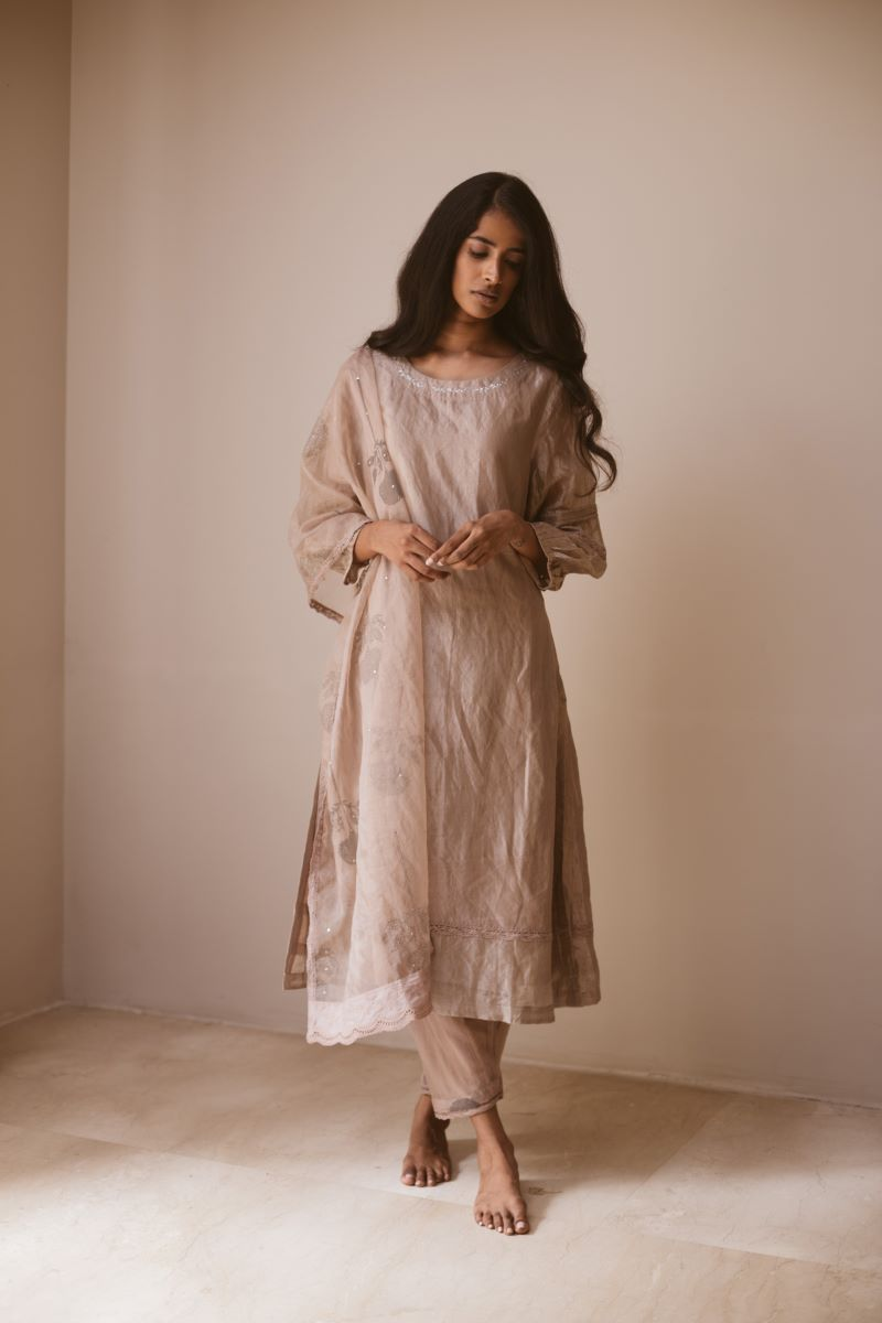Zohra kurta with shalwar (Set of 2)