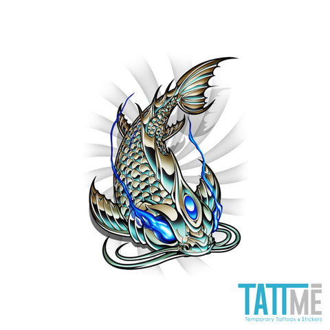 chrome koi fish