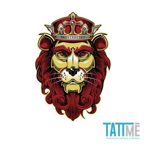 lion tattme tattoos