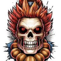 Akuma temporary tattoo