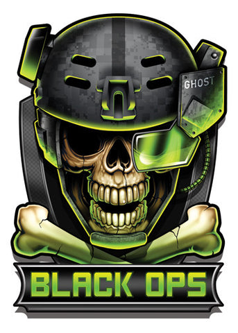 Black Ops-Black Ops 2 Temporary Tattoo