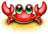 Crab Temporary Tattoo - Under The Sea Tattoos