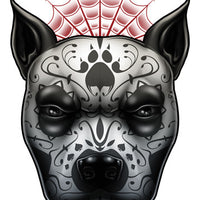 Day of The Dog Pit Bull Temporary Tattoos - Inked Dogs Tattoos