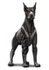 Sleeved Doberman Temporary Tattoos - Inked Dogs Tattoos