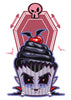 Dracula Cupcake Temporary Tattoo - Creepy Cakes Tattoos