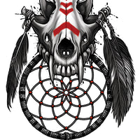 Black, Gray and Red Temporary Tattoo Set