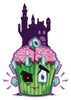 Frankenstein Cupcake Temporary Tattoo - Creepy Cakes Tattoos