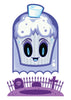 Ghost Cupcake Temporary Tattoo - Creepy Cakes Tattoos