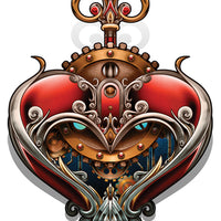 heart steampunk