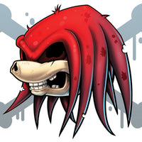Knuckles temporary tattoo