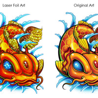Koi Fish Temporary Tattoo Comparison