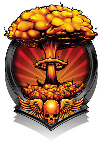 Mushroom Cloud-Black Ops 2 Temporary Tattoo