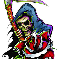 Reaper Temporary Tattoo - Boy Laser Foil Tattoos