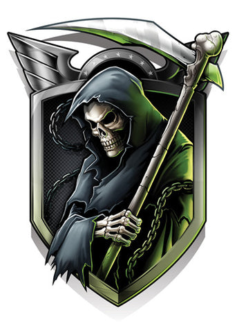 Reaper-Black Ops 2 Temporary Tattoo