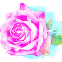 Rose Temporary Tattoo - Watercolor Tattoos